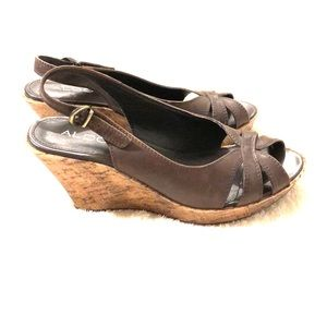 ALDO leather sandals 👡